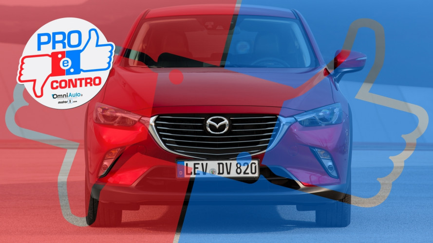 Mazda CX-3 1.5 AWD Luxury Edition, Pro & Contro