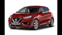 Nuova Nissan Micra, il rendering