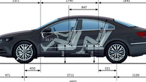 2012 Volkswagen CC facelift - 360° Optical Parking System (OPS)