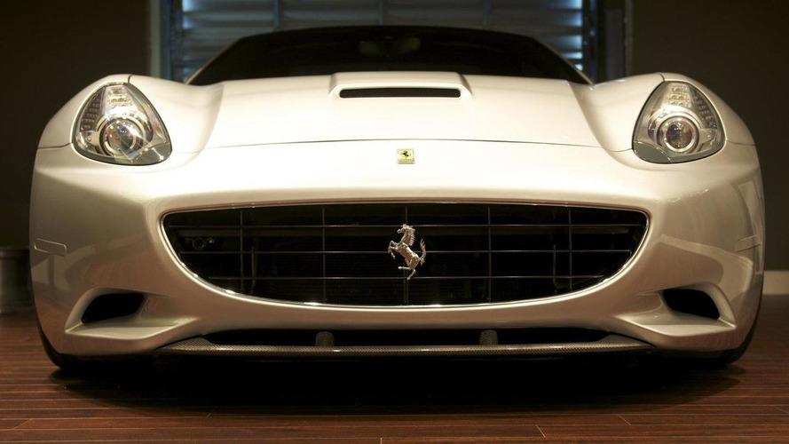 Ferrari California 3S Silver Carbon Fiber by DMC