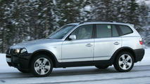BMW X3 M-Design spy photos