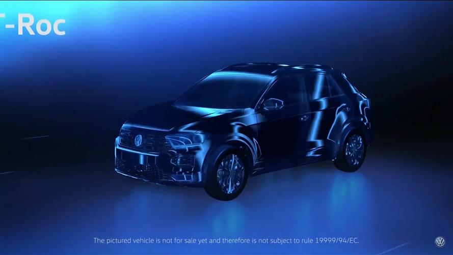 Novo crossover médio da VW, T-ROC será vendido nos EUA em 2019