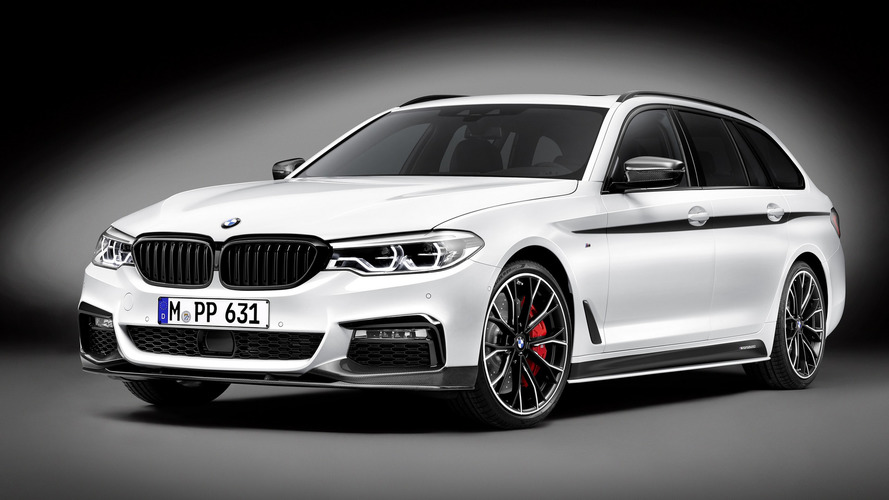 BMW 5 Series Touring dresses up in M Performance suit for Geneva