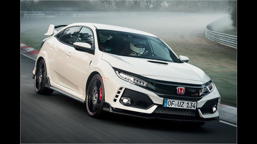 Honda fährt Rekordzeit mit Fronttriebler