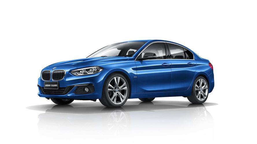 La BMW Série 1 prend du coffre pour la Chine