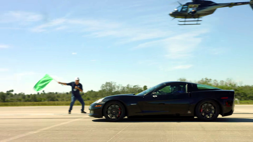 Electric Corvette hits 209 mph, sets world record
