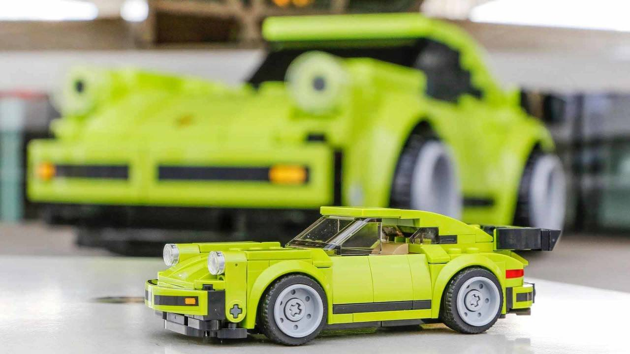 Life-Sized Porsche 911 Turbo Lego