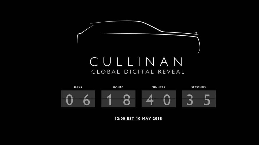 Rolls-Royce define data de estreia do inédito SUV Cullinan
