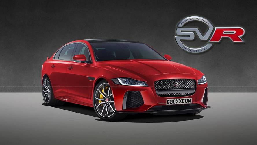 Design - Jaguar XF SVR