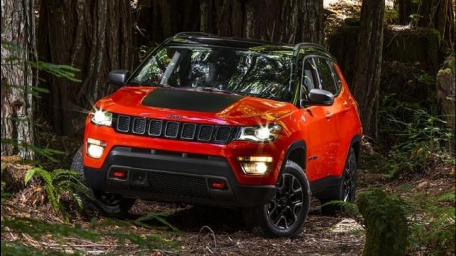 Nuova Jeep Compass, benvenuto sterrato