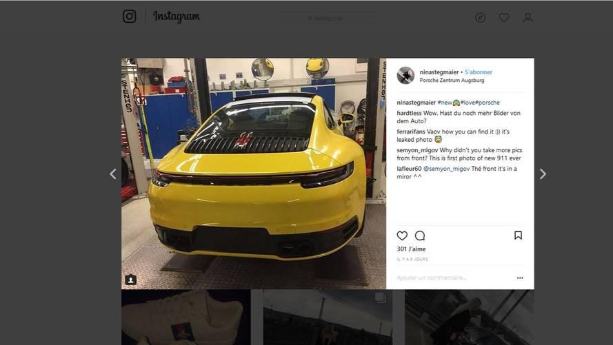 La nouvelle Porsche 911 GT3 RS