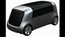 Le Volkswagen del futuro, i bozzetti 015