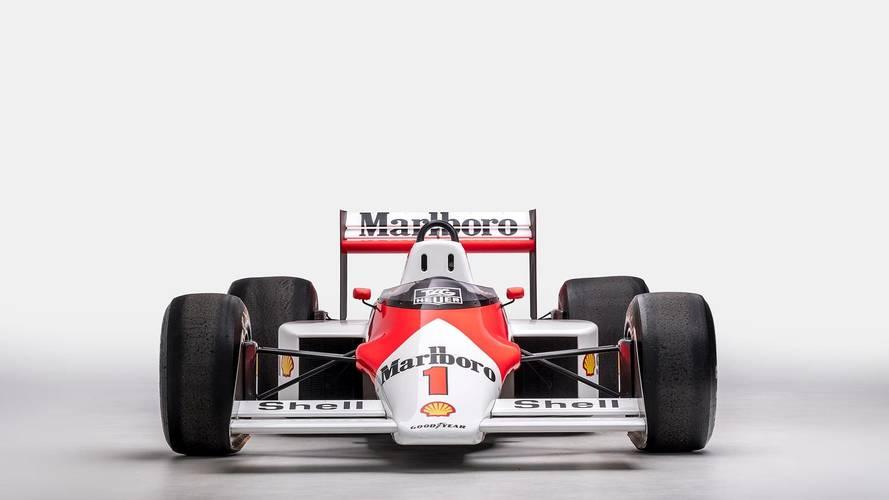 1987 McLaren TAG Porsche F1 Car