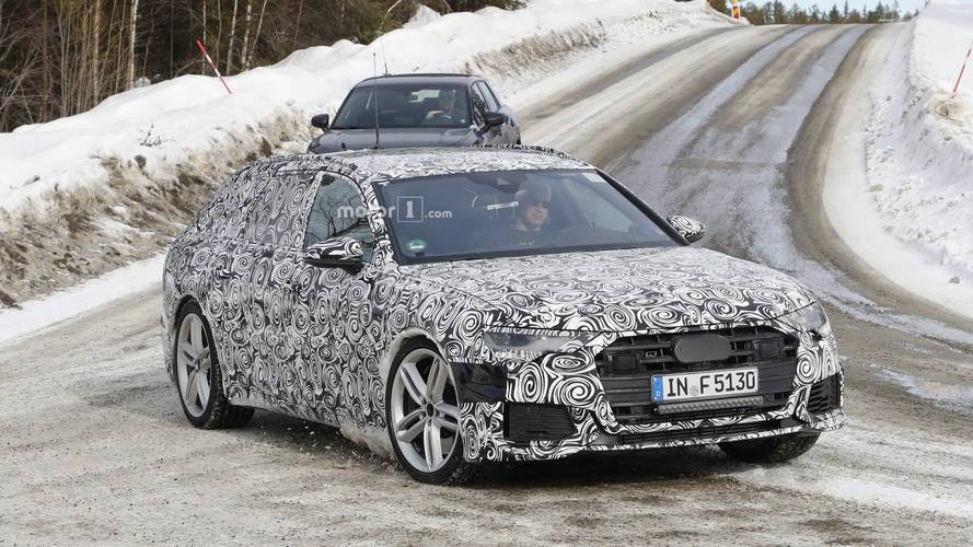 2020 Audi S6 Avant spy photos