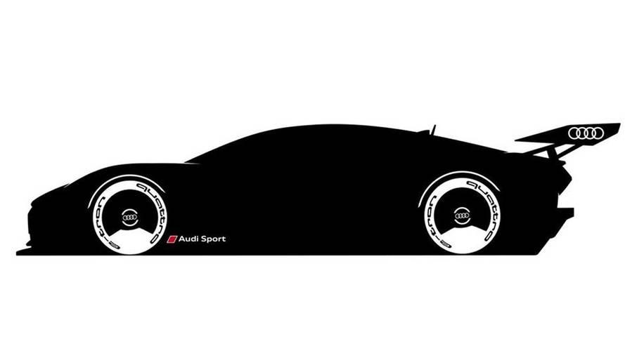 Audi E-Tron Vision Gran Turismo Teased Ahead Of Monday Reveal
