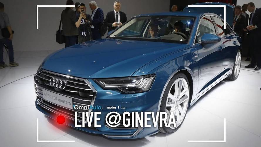 Nuova Audi A6, l'anti-ammiraglia è al Salone di Ginevra