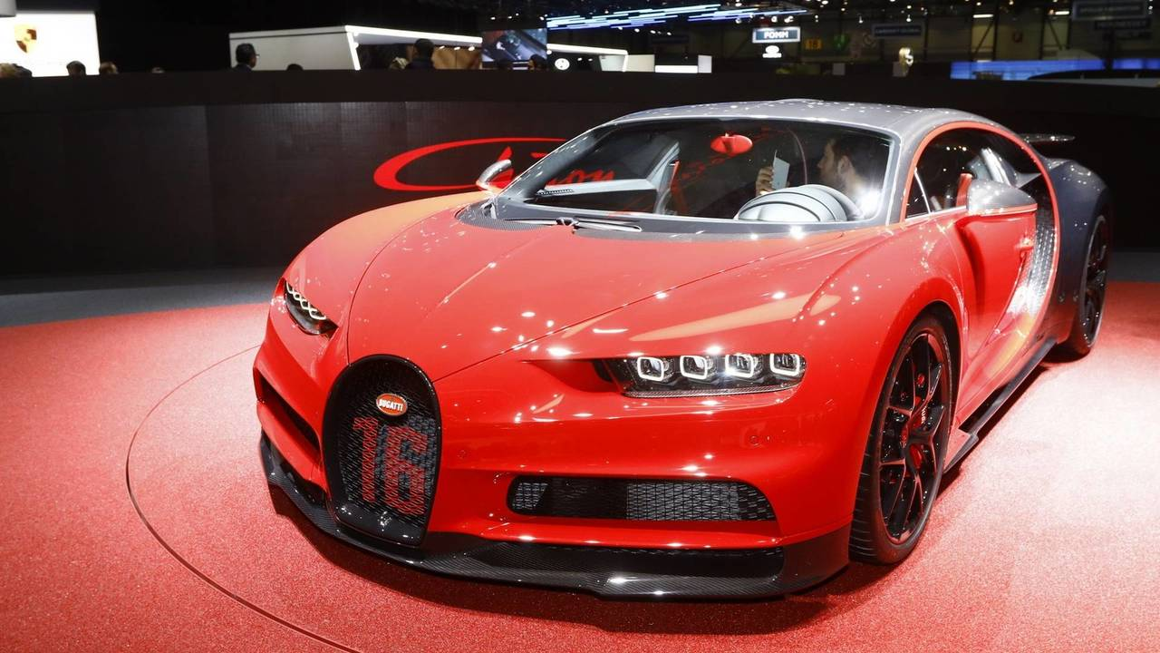 2018 Bugatti Chiron Sport