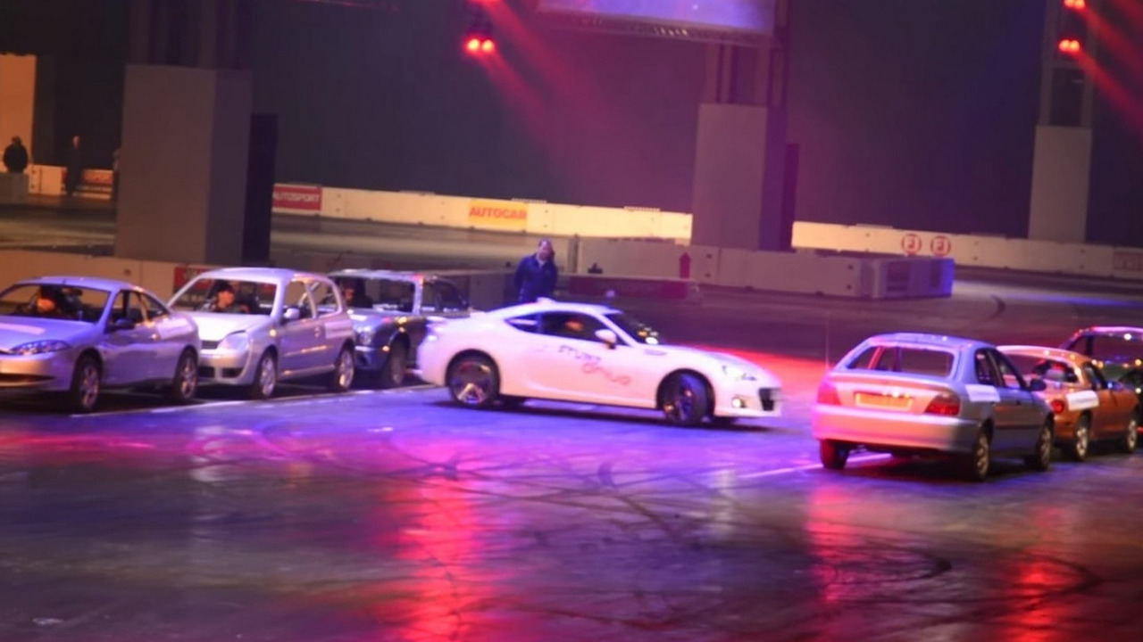 Subaru BRZ sets Guinness record for tightest 360-degree spin