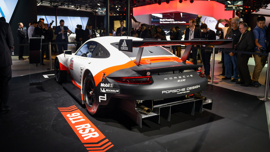 2017 porsche 911 rsr le mans racer goes mid engine. Black Bedroom Furniture Sets. Home Design Ideas