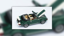 Lego Porsche and Iveco Truck from Mini set