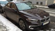 BMW 1 Serisi Sedan (Avrupa versiyonu) casus fotoğrafları