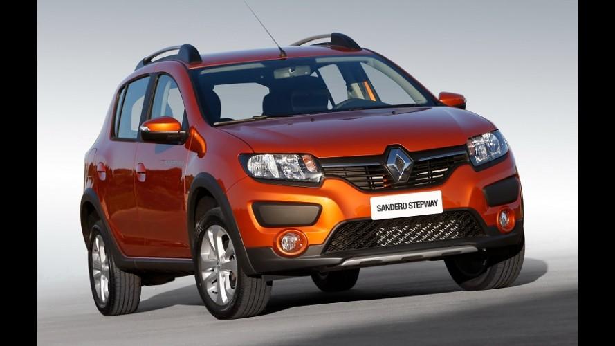 Renault lança Logan, Sandero e Stepway 2016 - veja preços
