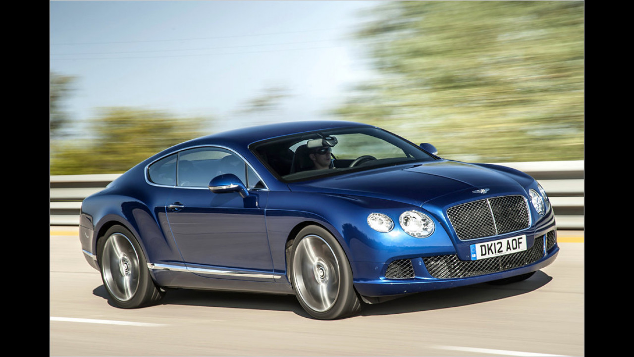 Bentley Continental GT Speed W12: 635 PS