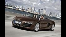 Salão de Frankfurt: Veja fotos oficiais do Novo Audi R8 Spyder