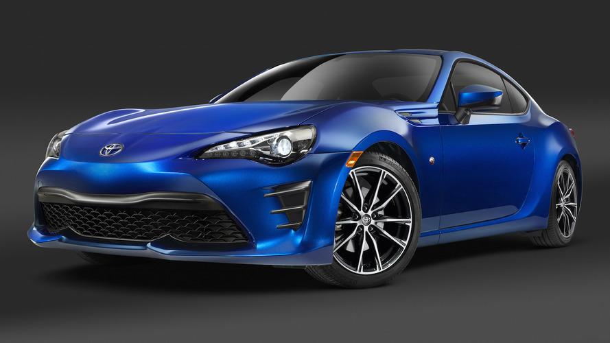 2017 Toyota GT86 Fiyatı