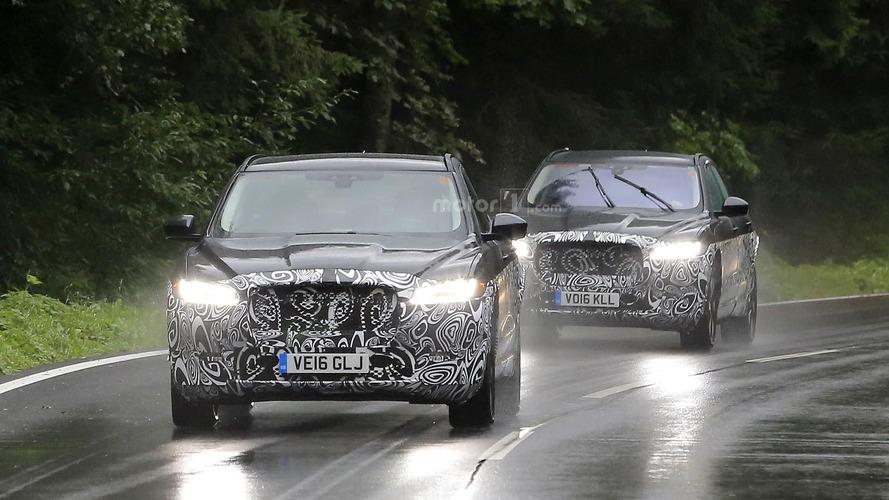 Olası Jaguar E-Pace test aracı görüntülendi