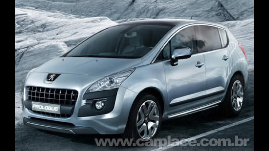 Peugeot Prologue Concept adianta como será o visual de SUV derivado do 308