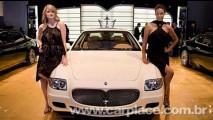 Salão de Detroit 2008: Maserati Quattroporte Collezione Cento