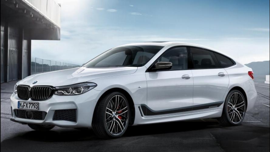 BMW Serie 6 GT, più