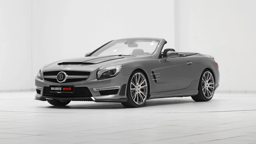 Brabus tunes the Mercedes SL63 AMG to 850 HP
