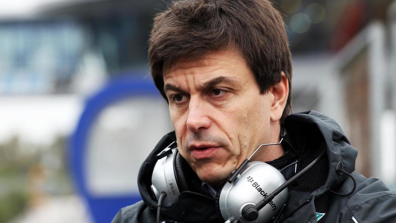 Toto Wolff 31.01.2014 Formula One Testing Jerez Spain