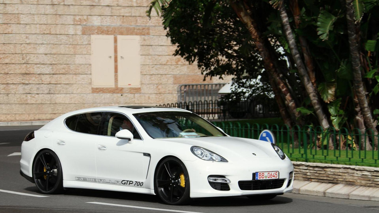 GEMBALLA GTP 700 based on the Porsche Panamera Turbo 16.11.2013