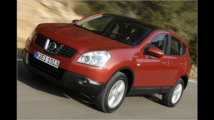 Anders sein: Peppiger Pseudo-SUV Nissan Qashqai im Test