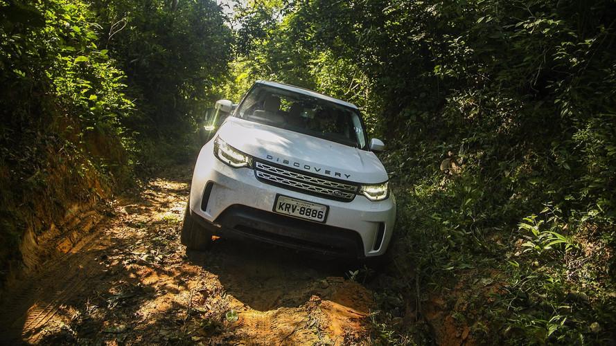 Land Rover Discovery 2018 na Amazônia