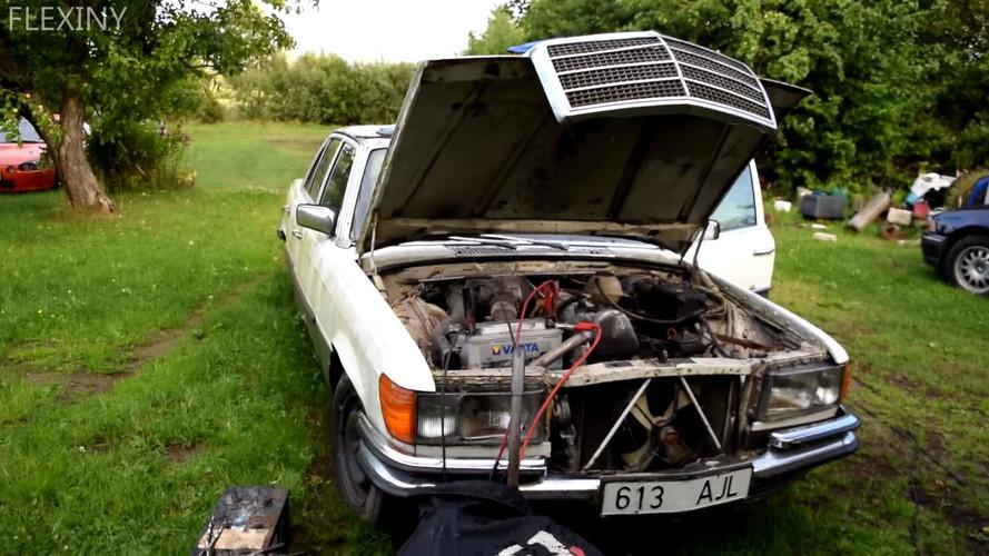 Mercedes-Benz W116 çalıştırma