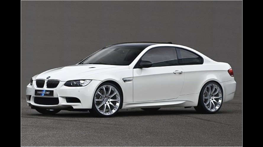 Noch schärfer: Tuning-Programm für BMW M3 von Hartge