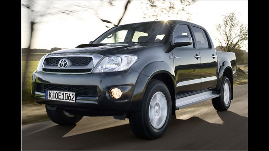 Feinschliff: Toyota verpasst dem Hilux ein neues Gesicht
