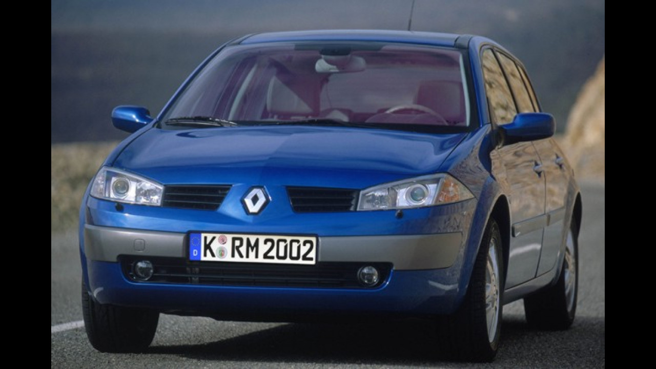 9. Platz: Renault Mégane 1.6 Authentique