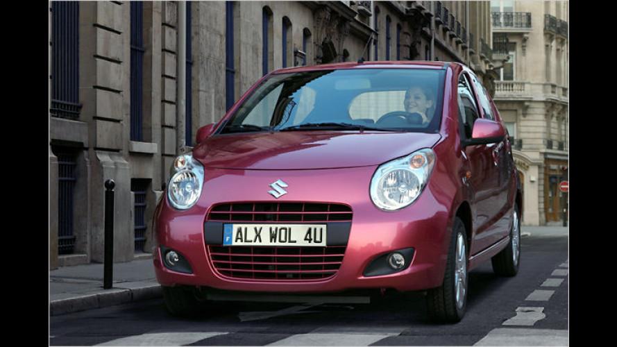 Neuer Suzuki Alto: Einstieg für unter 9.000 Euro