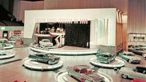 1955 GM Motorama display with 1955 LaSalle II Roadster