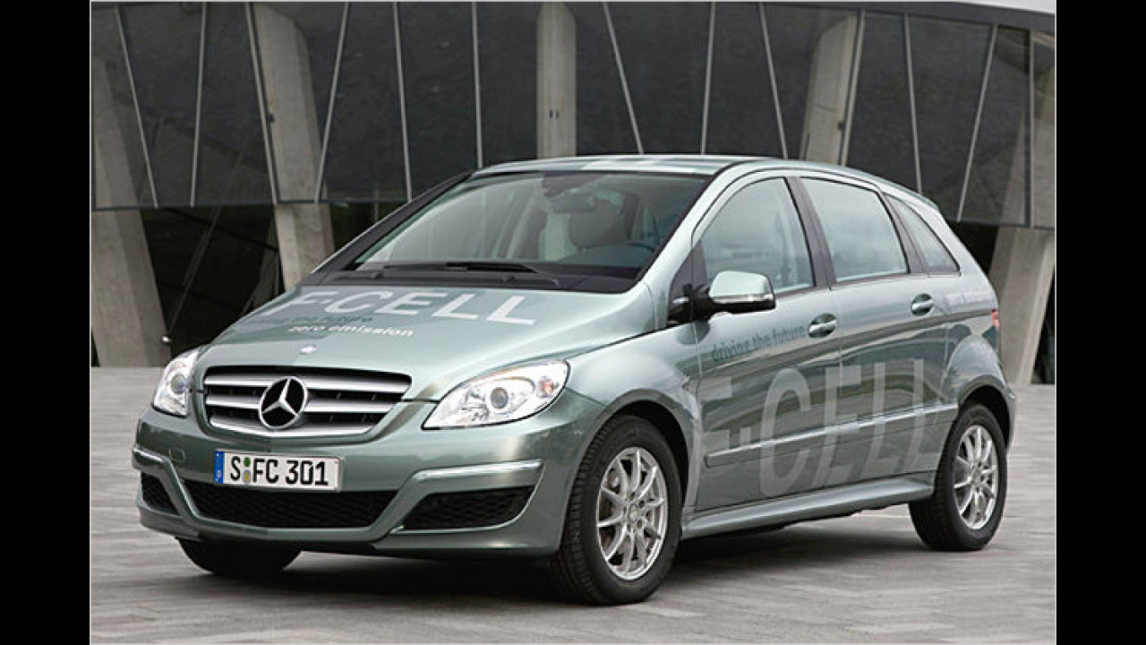 Mercedes B-Klasse F-Cell