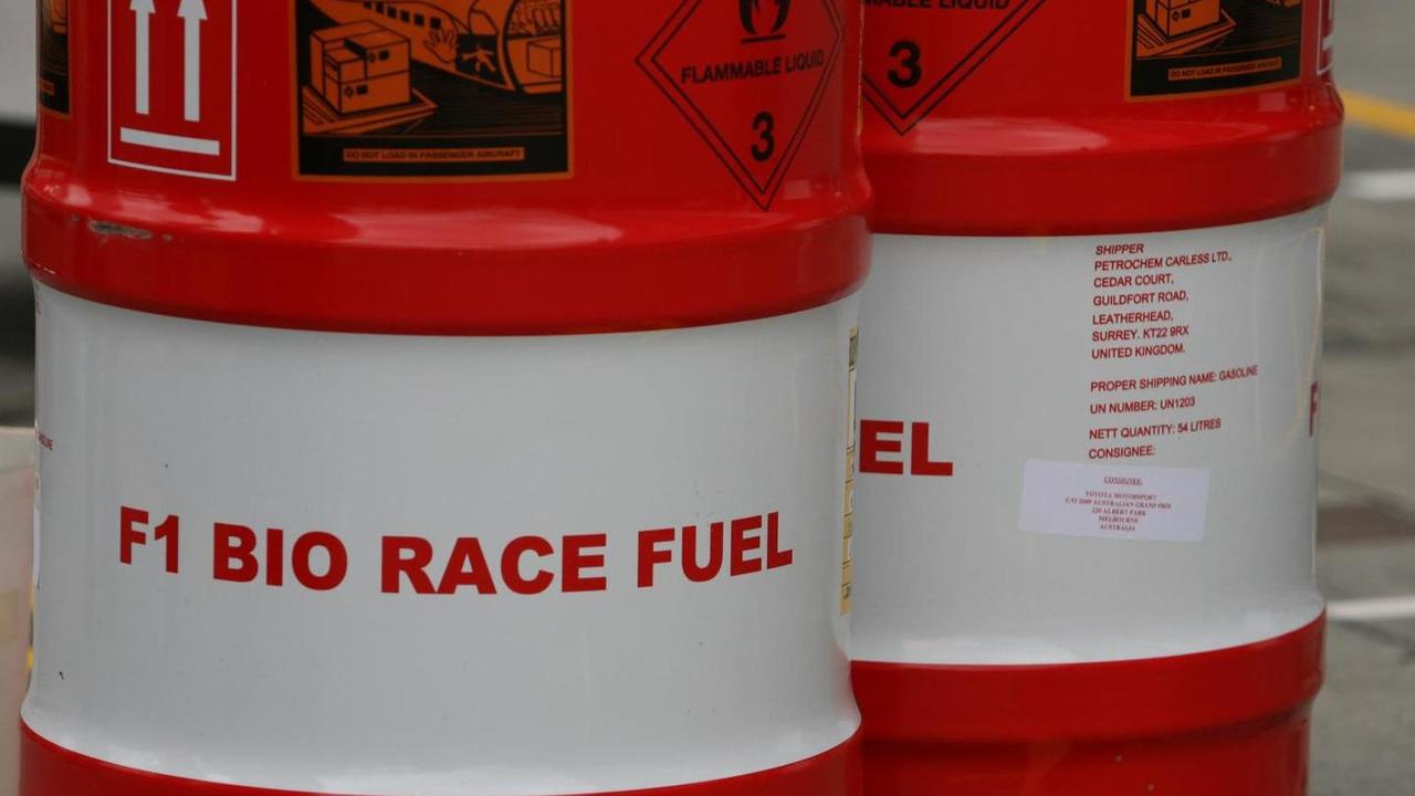 F1 Bio Race fuel 25.03.2009 Australian Grand Prix