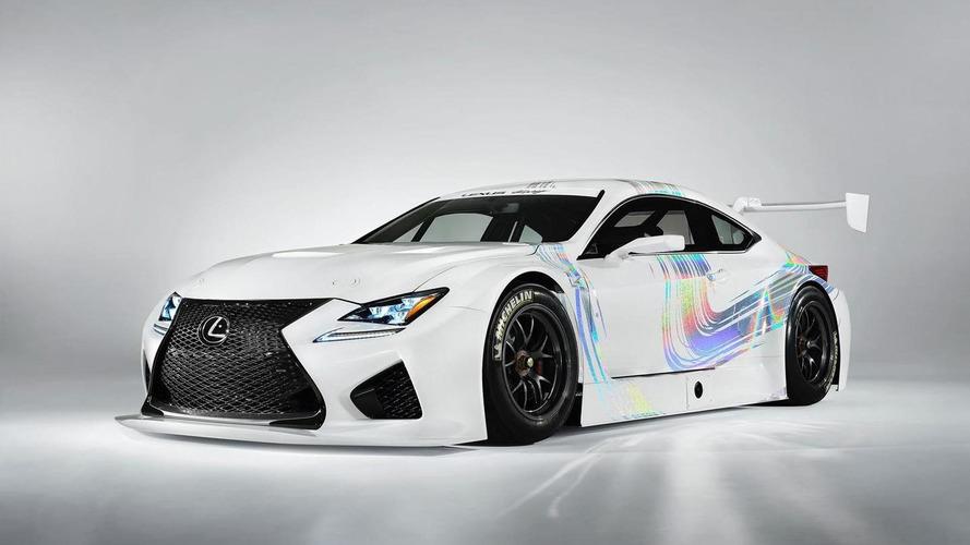 Lexus RC F GT3 konsepti - Cenevre