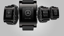 Mercedes & Pebble smartwatch 20.12.2013