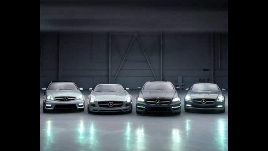 Mercedes SLS AMG Roadster: video teaser