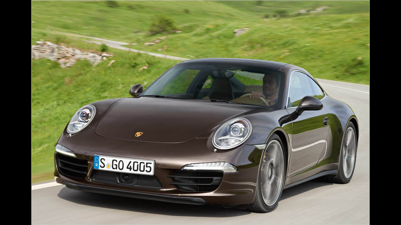 Die besten Autos bis 5 Jahre: Porsche 911